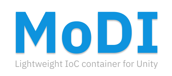 MoDI. Lightweight IoC container for Unity.